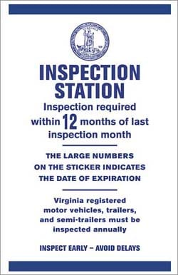 Truck Services include Virginia State Inspections